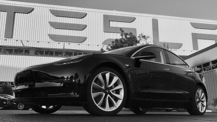 Tesla Model 3 production begins, first car rolls off the line