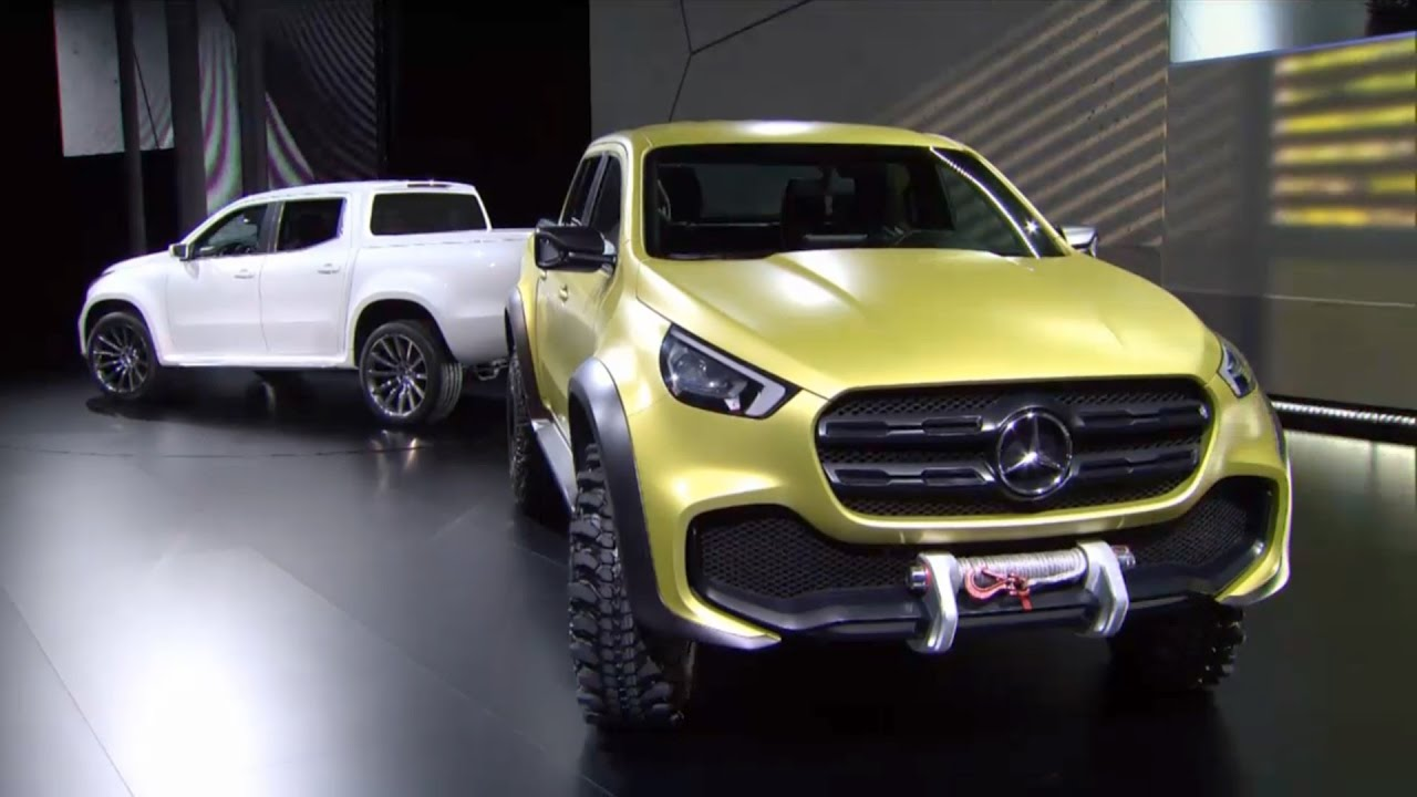 Mercedes-Benz X-Class revealed: The Mercedes of pickup trucks