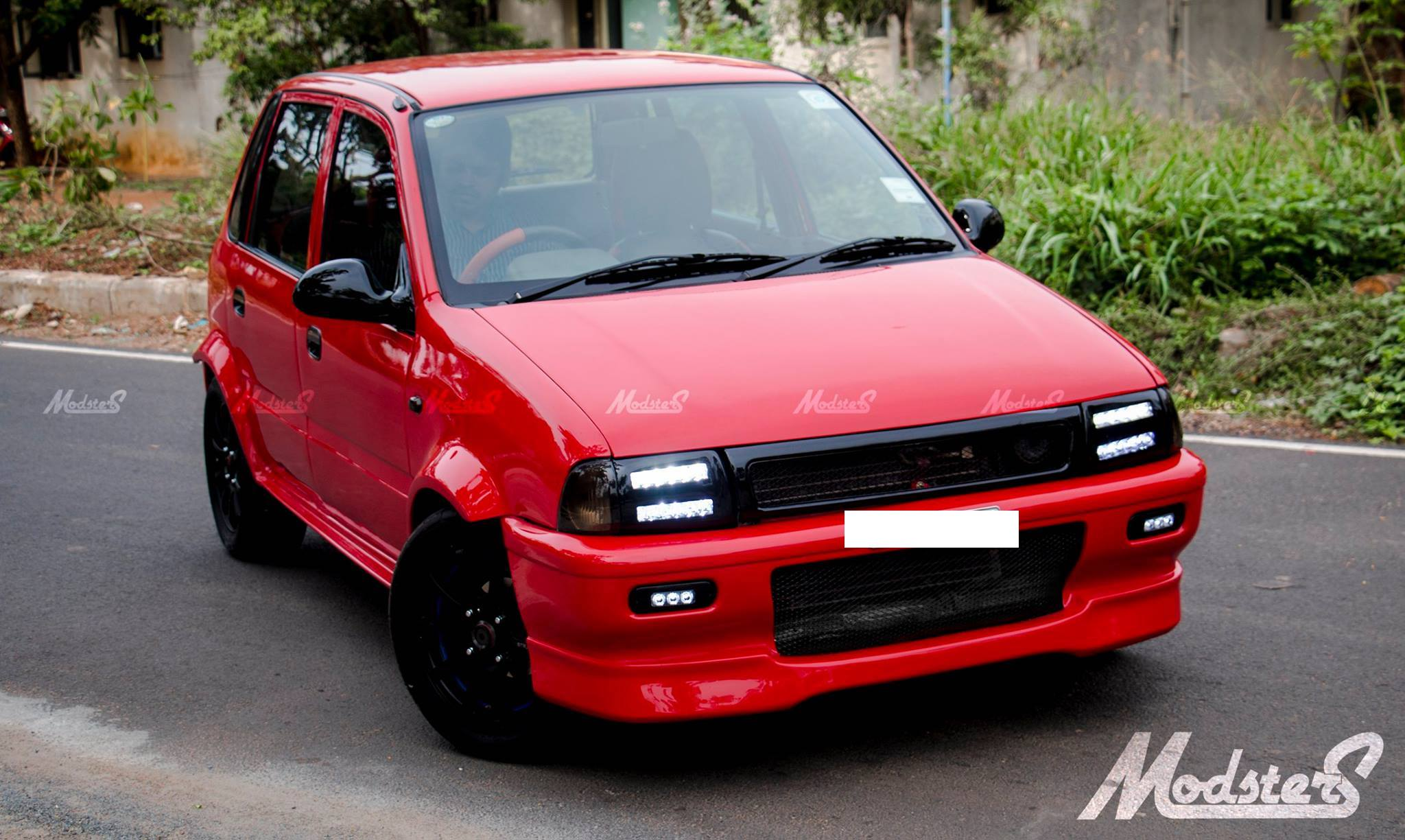 Maruti Zen Project 'POCKET ROCKET' by Modsters Automotive