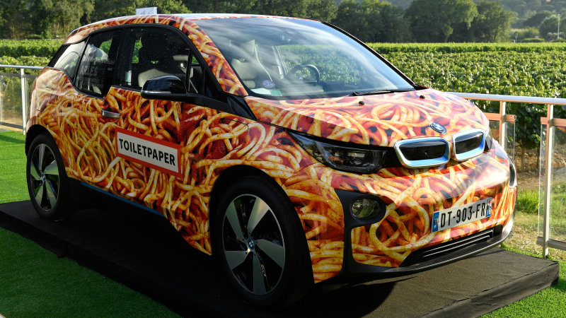 Someone spent $117,000 (Rs 3 915 990) on this spaghetti BMW i3