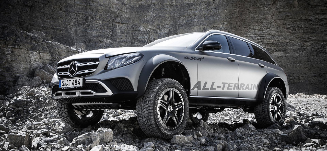 Mercedes E-Class All-Terrain 4x4² Is Real And It's Spectacular
