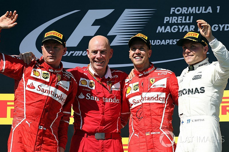 Hungarian GP: Vettel scores anxious win in hobbled Ferrari