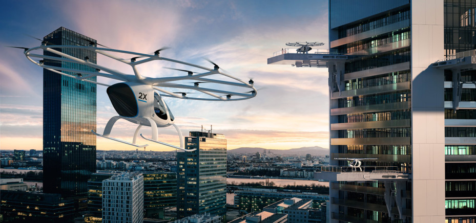 Daimler invests in flying taxi firm Volocopter