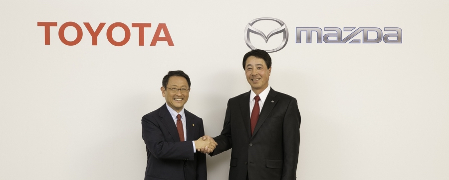 Toyota, Mazda partner to build EVs at new $1.6 billion U.S. plant