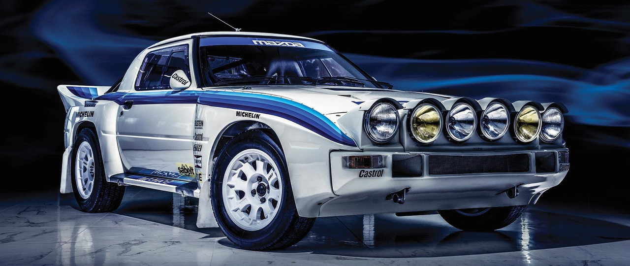 Buy A Pristine Example Of Mazda's Rare RX-7 Group B Rally Car