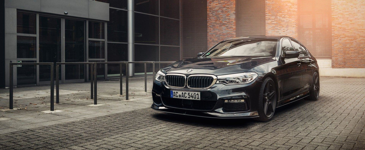 BMW 5 Series Tuned To Make Extra Power, High-Class Look