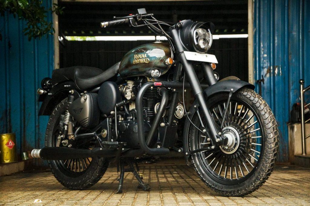 Royal Enfield Classic 350 'Thakur' by Eimor Customs