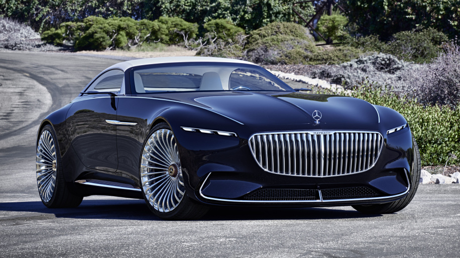Vision Mercedes-Maybach 6 Cabriolet is last year's concept with a soft top