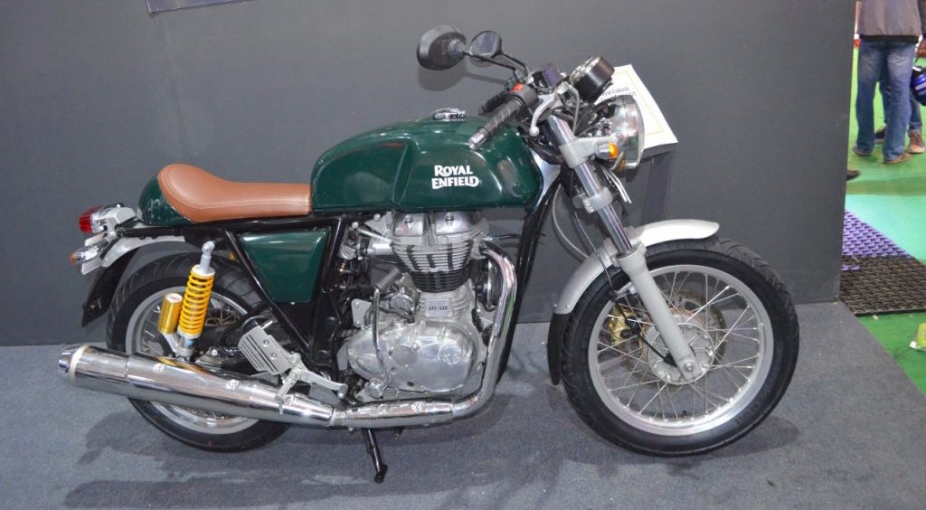 Nepal: Royal Enfield Continental GT