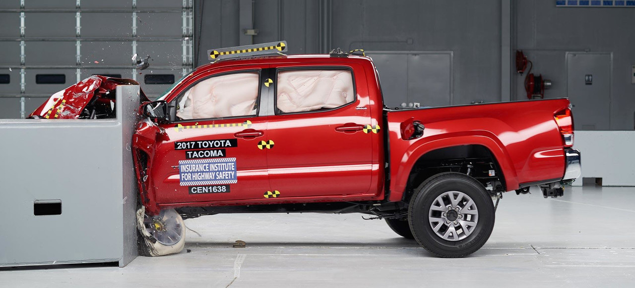 Midsize Trucks Miss Top Safety Ratings In IIHS Tests