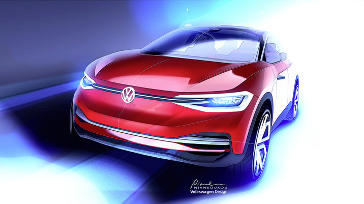 Volkswagen I.D. Crozz coming to Frankfurt with more production-ready bodywork