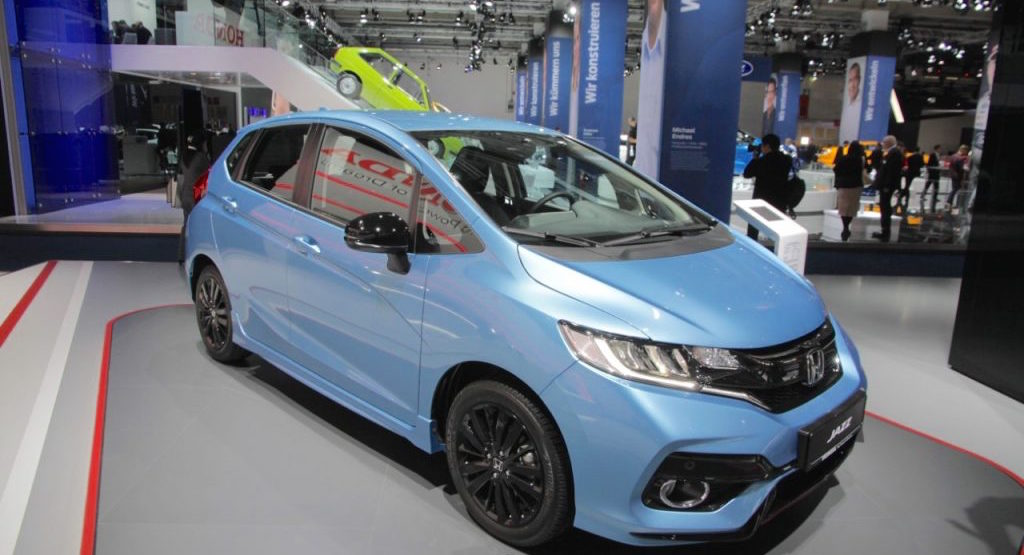 Frankfurt Motor Show 2017 Honda Jazz Facelift Showcased