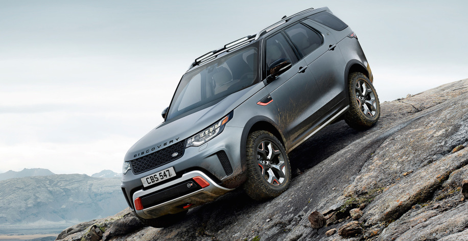 Land Rover Discovery SVX is an angry mountain goat on wheels