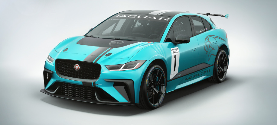 Jaguar's going racing with the battery-electric I-Pace