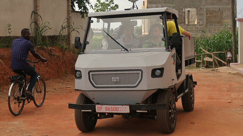 This electric car prototype is built for Africa's rural roads