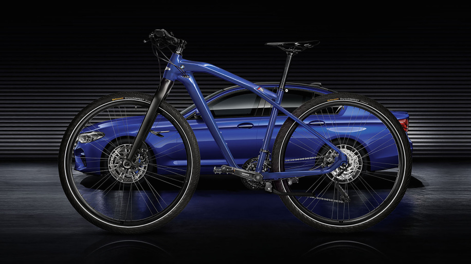 Here's a BMW bicycle to match your M5