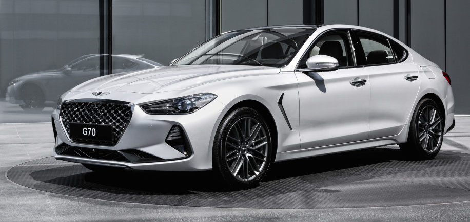 New entry-level Genesis G70 luxury sedan revealed