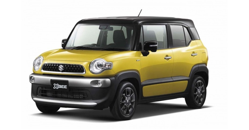 Three Suzuki Xbee compact SUV concepts announced for Tokyo Motor Show