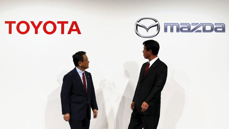 Toyota, Mazda form electric car technology venture