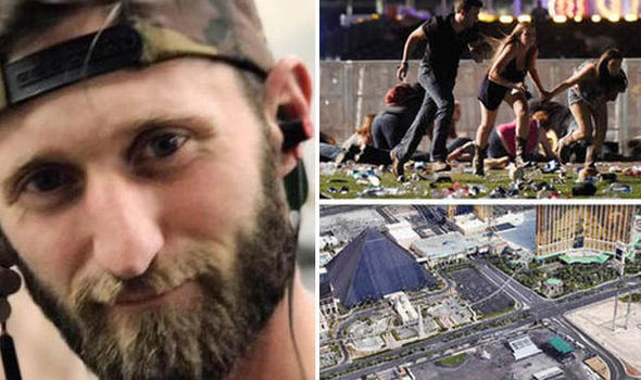 Marine vet stole truck, drove Las Vegas shooting victims to hospital