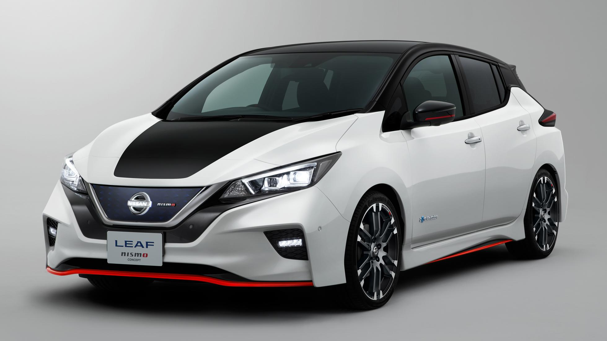 Nissan Leaf NISMO Concept revealed, to debut at 2017 Tokyo Motor Show