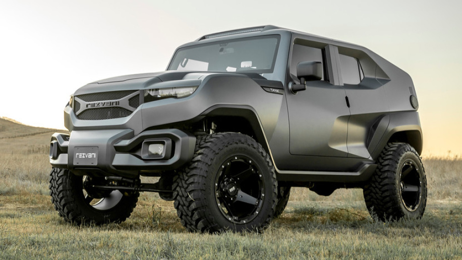 Rezvani Tank: It's like a Hot Wheels car brought to life