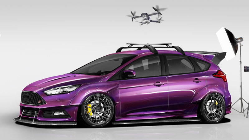 Ford Focus ST by Blood Type Racing