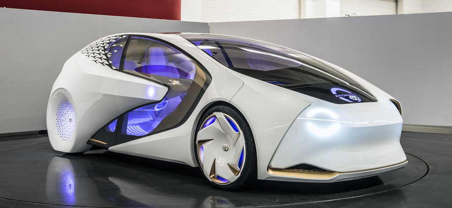 Toyota to test self-driving, talking Concept-i car by about 2020