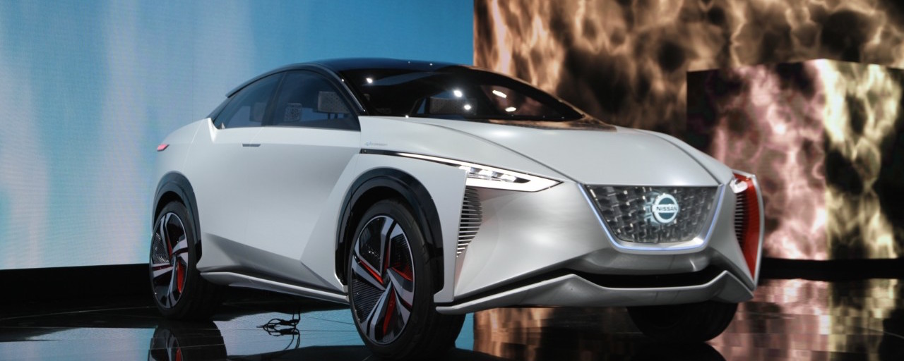 Nissan IMx concept: Autonomous EV with a disappearing steering wheel