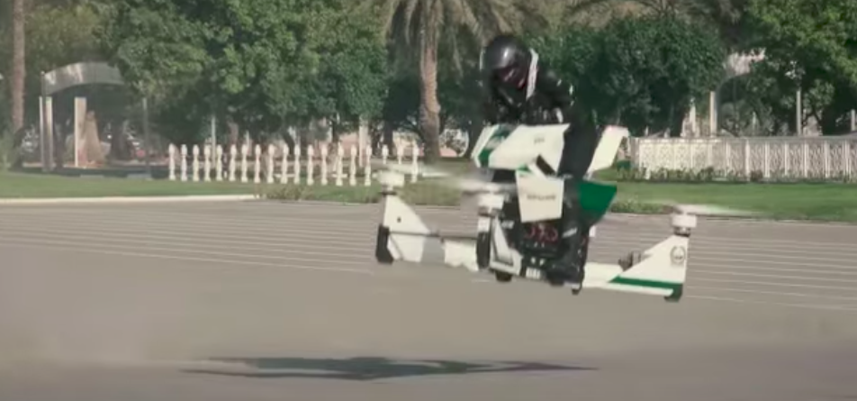 Dubai Becomes Cyberpunk Dystopia, Puts Cops on Hoverbikes