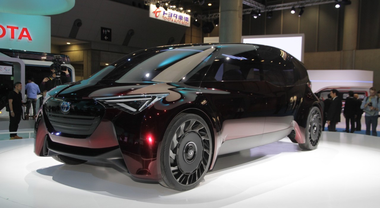 Toyota Fine-Comfort Ride Concept at the 2017 Tokyo Motor Show