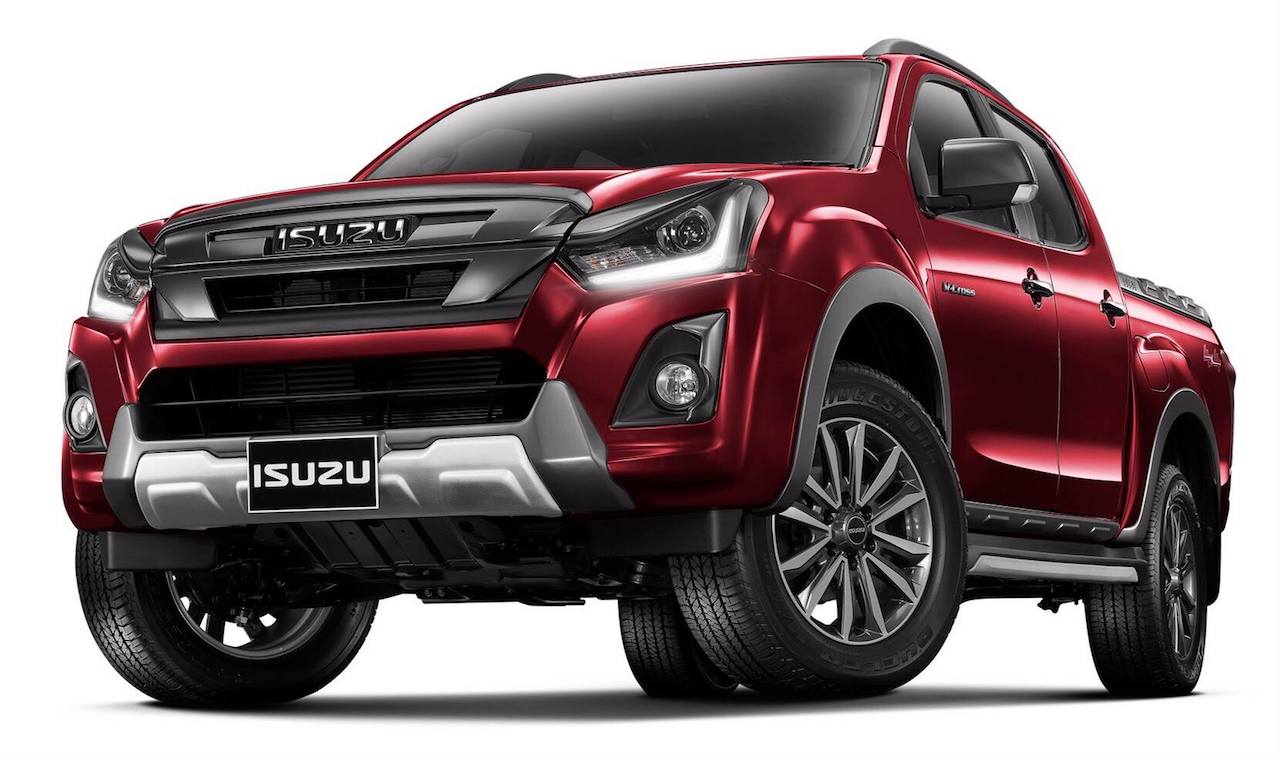 2018 isuzu d max facelift officially revealed in thailand. Black Bedroom Furniture Sets. Home Design Ideas