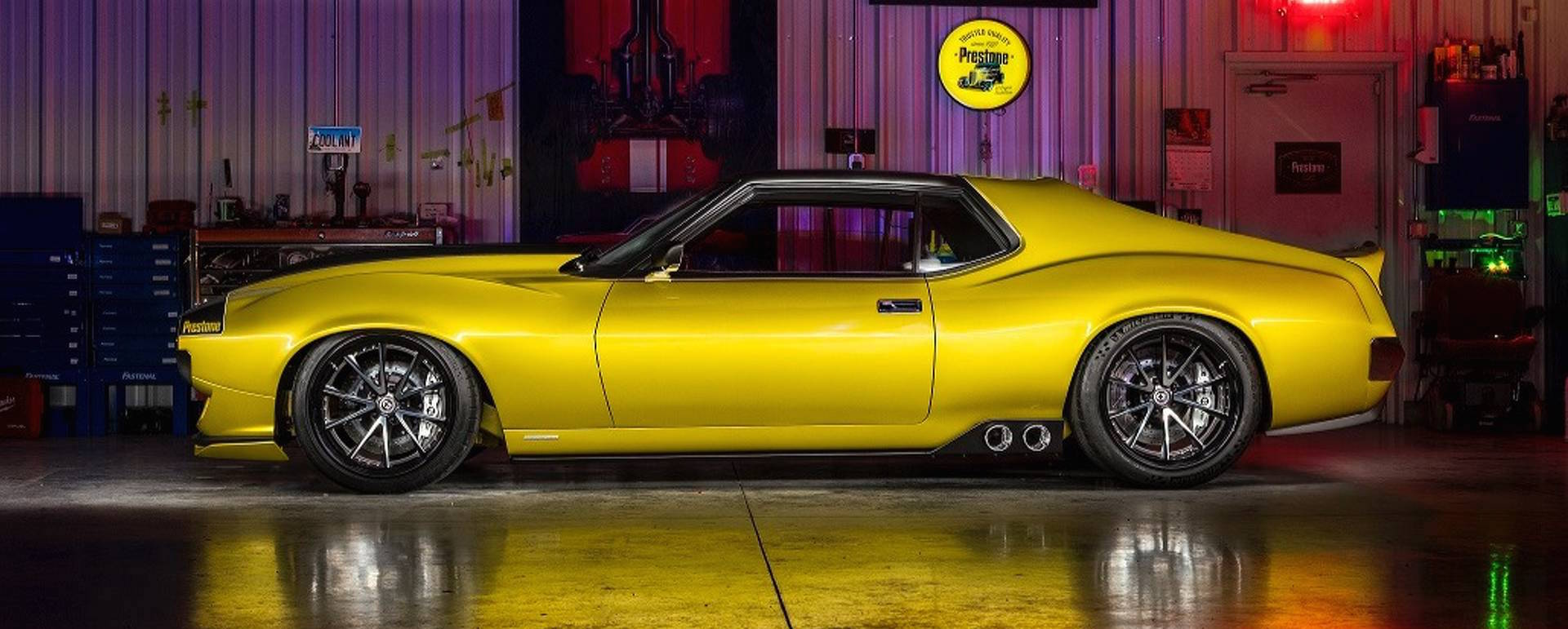 Ringbrothers Raises Hell With 1,000-HP AMC Javelin At SEMA