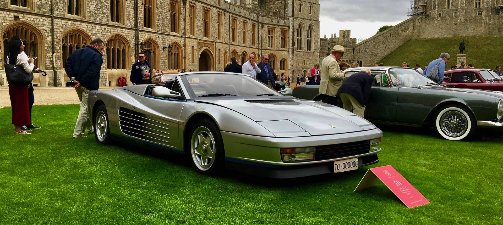 Meet The World's Only Ferrari Testarossa Spider