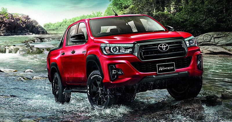 2018 Toyota Hilux Revo facelift unveiled in Thailand
