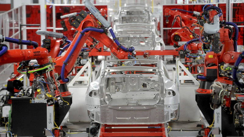 Tesla buys automation company to mitigate production delays