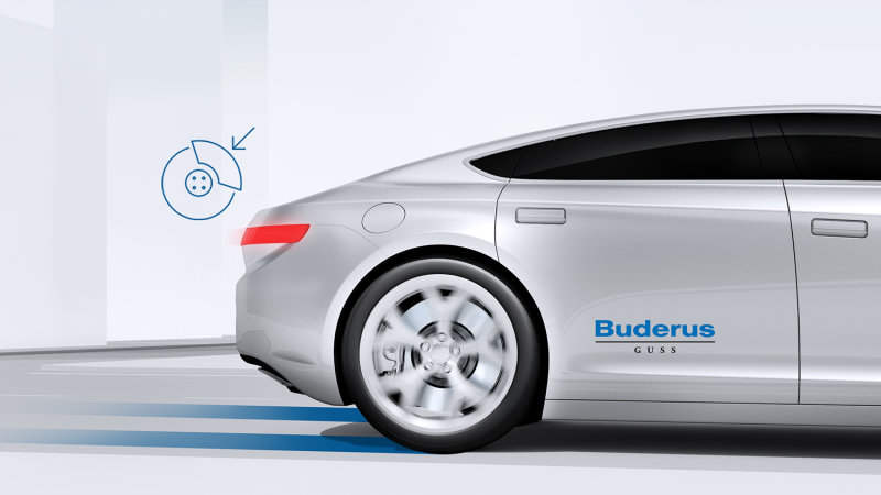 Bosch's new brakes last longer, keep wheels clean and reduce emissions