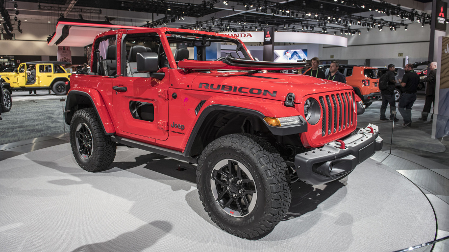 2018 Jeep Wrangler: The iconic off-roader, with new ...