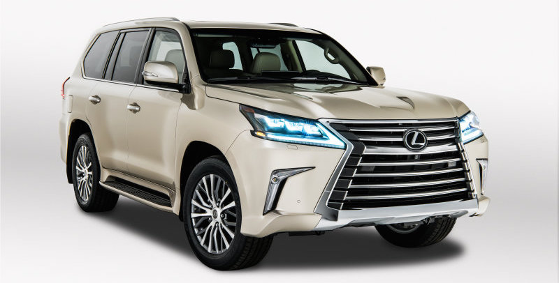 2018 Lexus LX 570 drops $5,000 (Rs 168 000) in new 2-row trim
