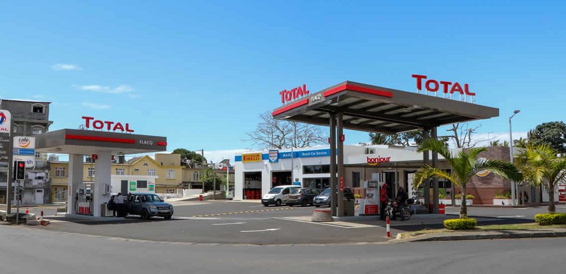 TOTAL Flacq : une station-service new-look