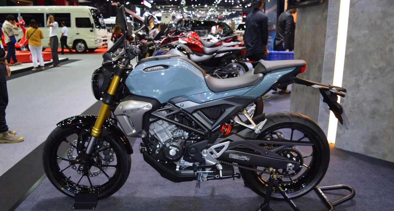 Honda CB150R ExMotion ABS & HRC Edition at 2017 Thai Motor Expo