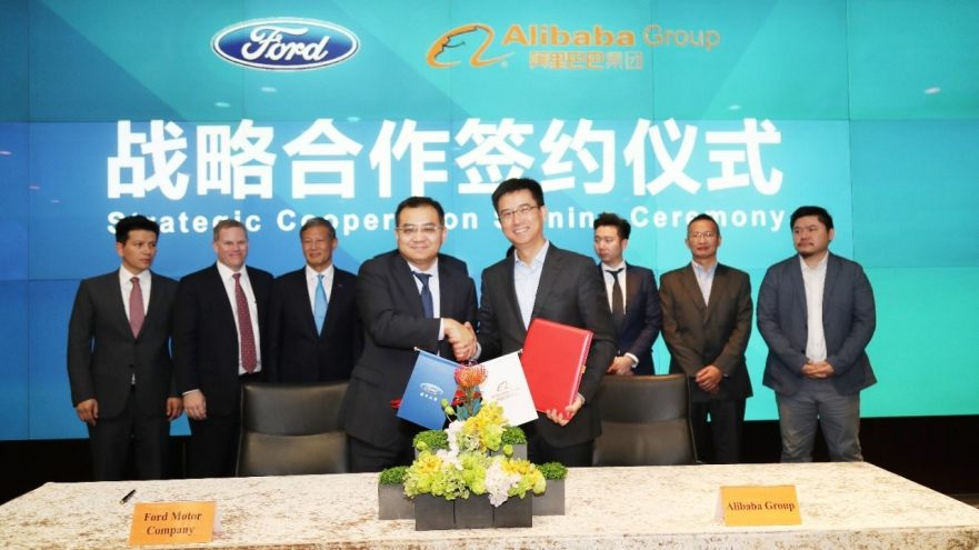 Ford reportedly to sell cars in China direct online via Alibaba