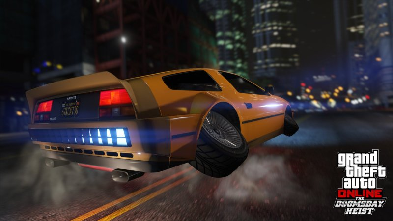 'Grand Theft Auto' flying and swimming DeLorean lookalike is possibly the game's coolest car