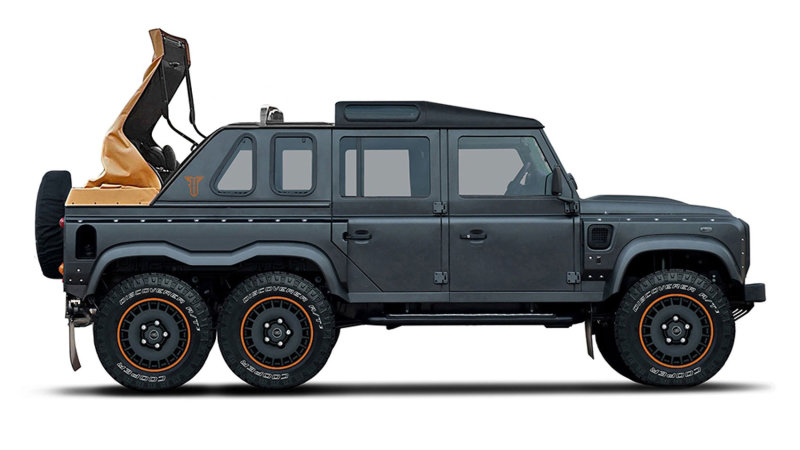 Kahn Design Flying Huntsman 6x6 Soft-Top: Because why the hell not?