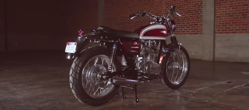 'Faster Son' Yamaha XSR700 by Greg Hageman adds to Yard Built Garage