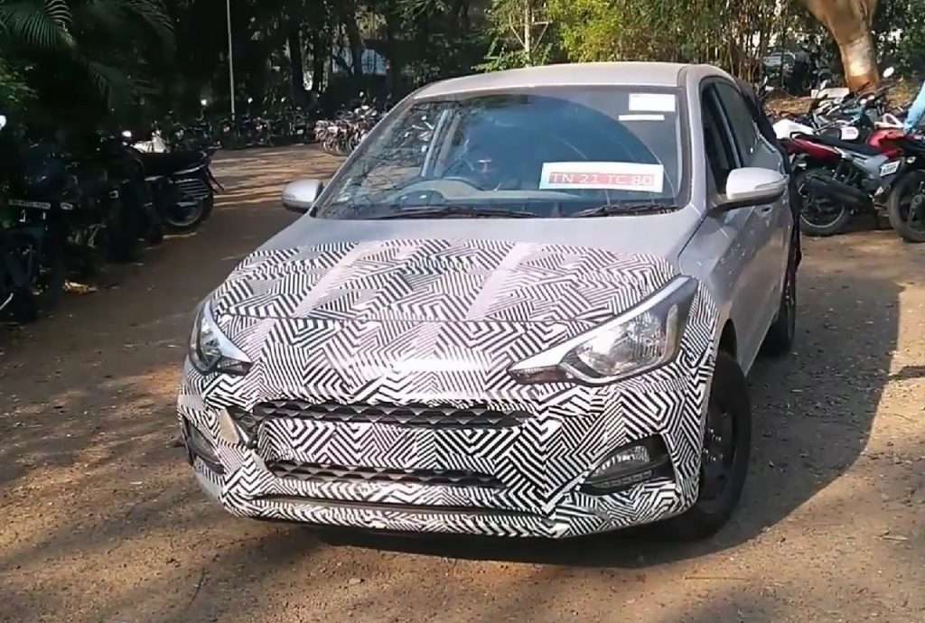 2018 Hyundai i20 (facelift) spy video reveals exterior and interior details