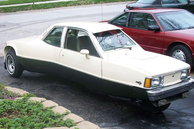 Chevy Citation trike can't decide which way to go