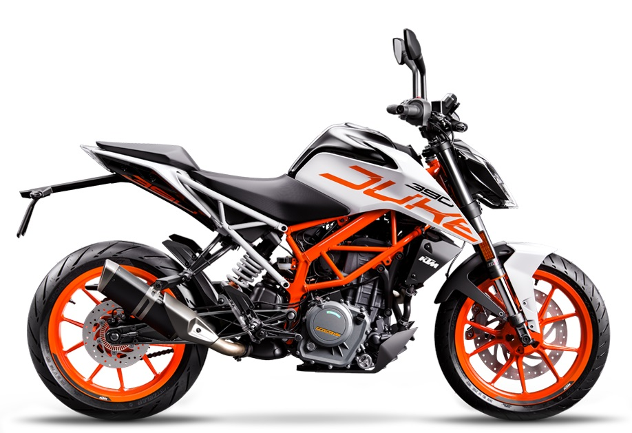 2018 KTM 390 Duke white colour launched