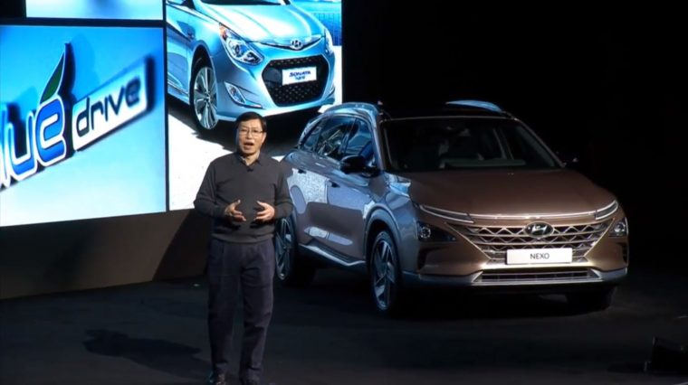 Hyundai Nexo fuel-cell vehicle is what's next in automaker's 'Hydrogen Life Vision'