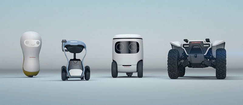 Honda robots, vehicles powered by new Mobile Power Packs